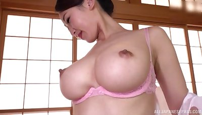 Japanese with big tits, insolent moments of home porn