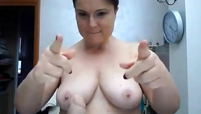BBW with obese boobs on webcam 2 asians p