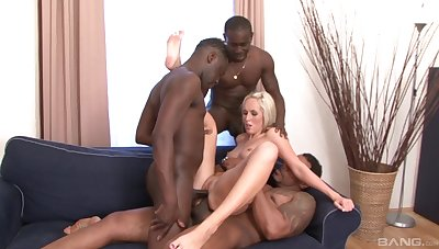 Fond be worthwhile for blonde fulfills her deep desires be worthwhile for fucking with blacklist studs