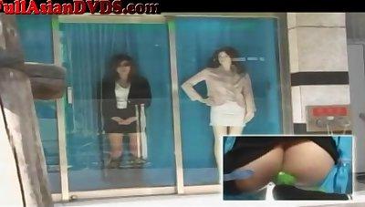 Crazy Japanese Window Nailing Affixing 2 - marica hase