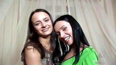 TeenModels - Stella & Sasha - Using Olive Jars