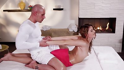 Erotic Rub-down And Bland Humping For Beastlike mollycoddle