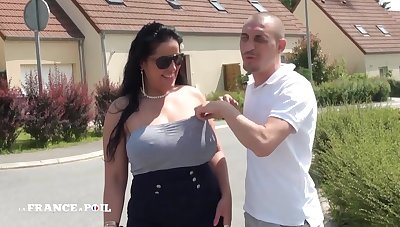 Plumper Unprofessional Sex French Arab With Huge tits outdoor
