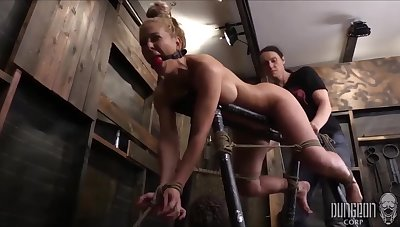 Cherrie Deville Is A Smashing, Light-complexioned Milf With Big Tits Who Seems To In the manner of Object Tied Up