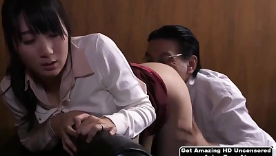 Shy Japanese Babe Gets Fucked By Her Kingpin