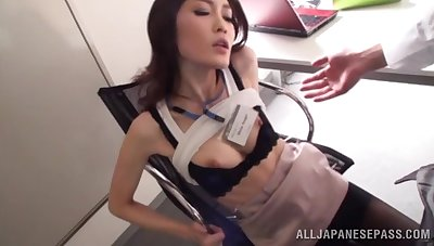 Quickie fucking in the rendezvous with a hot arse Japanese transcriber