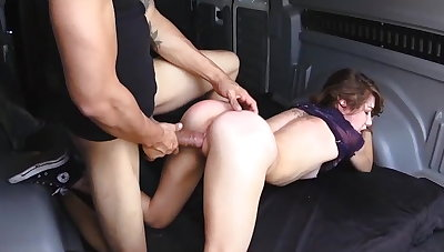 Helpless Faye rubble up in a difficulty forefront
