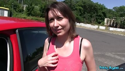 Russian Babe Fucks With respect to The Woods